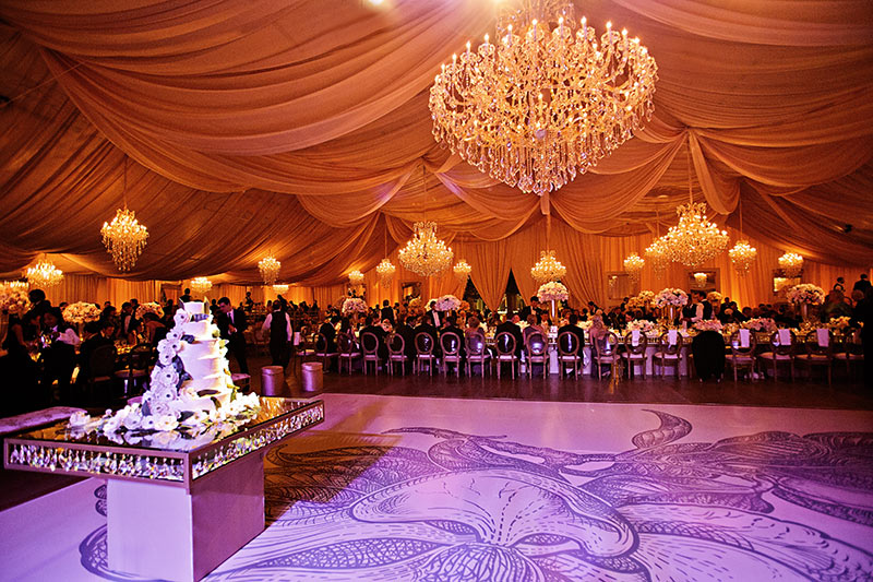 We create custom event tents much like this one that will make your wedding or event more than memorable.