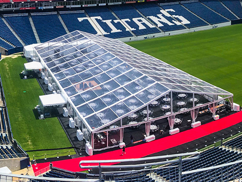 Chattanooga tent provides tent rentals Nashville needs to pull off special events like the 18th Annual Juvenile Diabetes Research Foundation Promise Gala at Nissan Stadium.