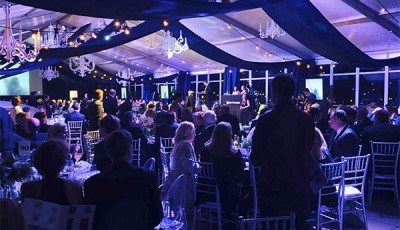 Chattanooga Event Tents Shield Patrons from Cold Snap at the Hunter Museum's 2018 Spectrum Gala