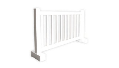 White Picket Fencing 6'