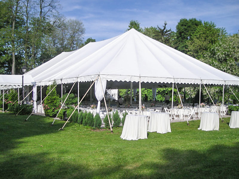 pole tent rental from Chattanooga Tent