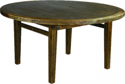 "60"" Round Farm Table"